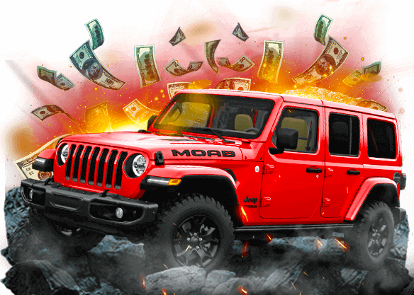 Jeep Wrangler up for grabs